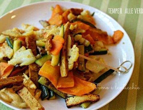 Tempeh alle verdure