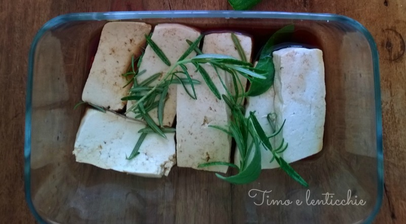 tofu marinato