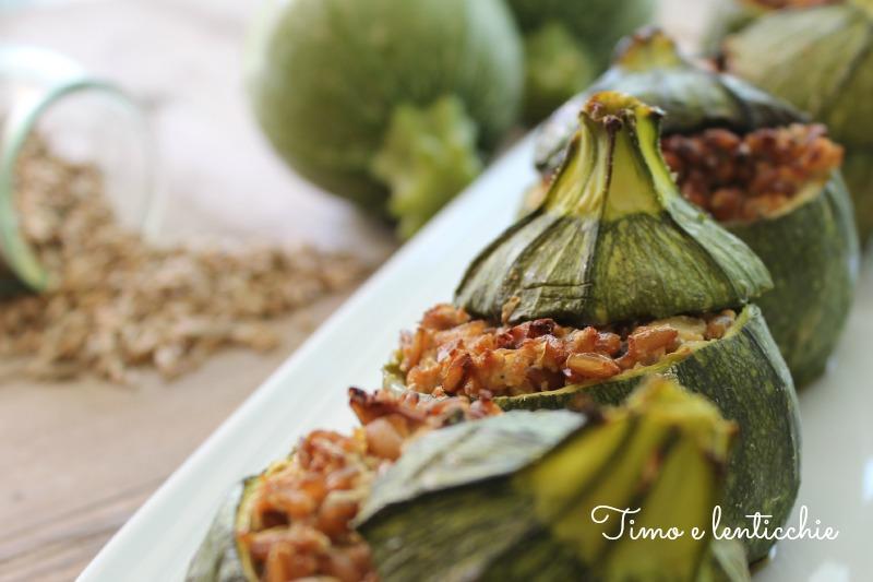 zucchine tofu e segale