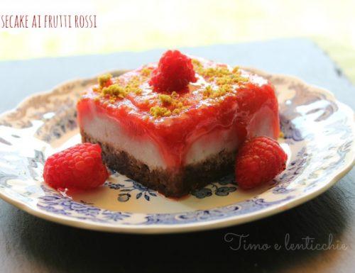 Mini cheesecake ai frutti rossi