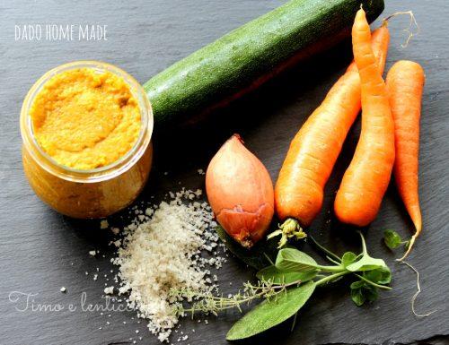 Dado vegetale homemade
