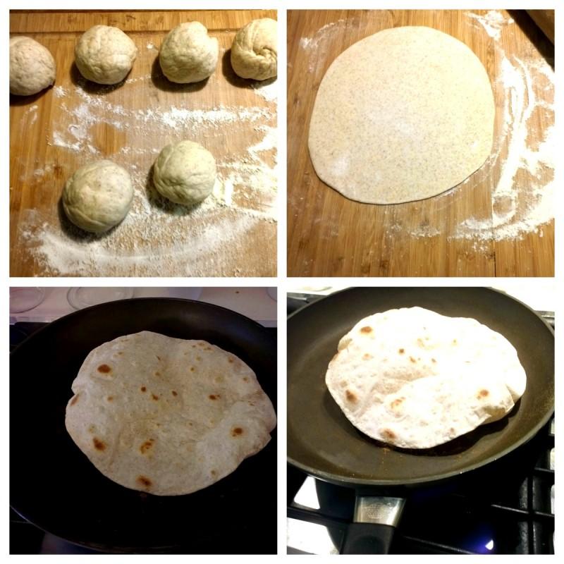 chapati Collage