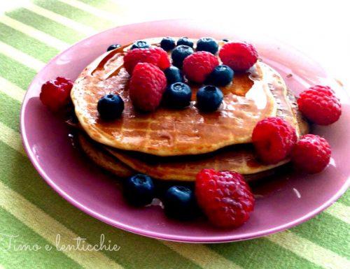 Pancake ai frutti rossi