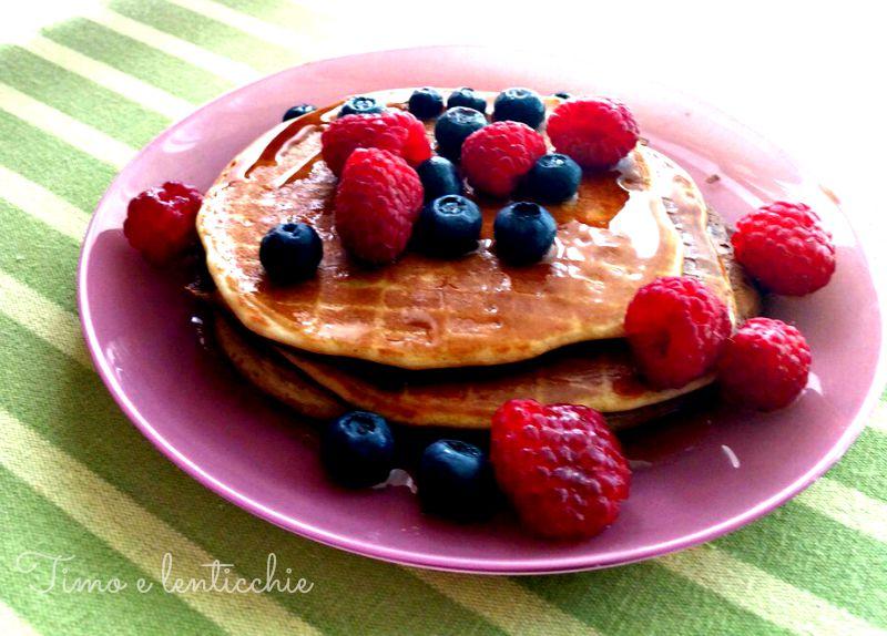 pancakes lamponi