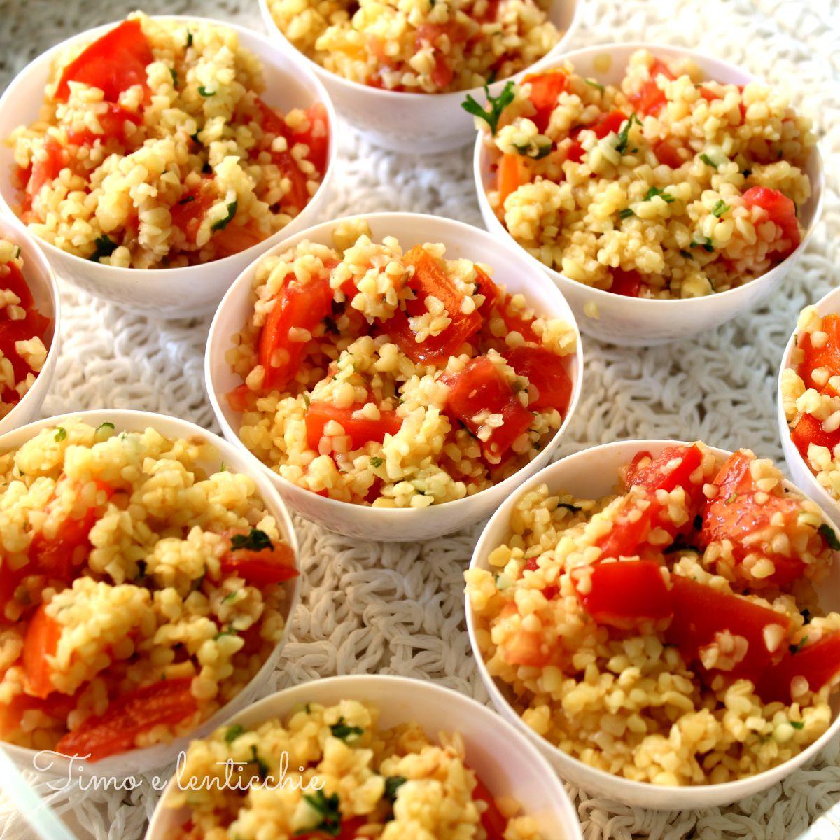 Taboul alla libanese ricetta estiva fresca e veloce con - Cucinare olive appena raccolte ...