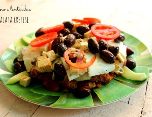 Insalata cretese ricetta facile