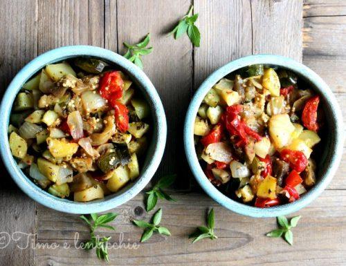 Briam di verdure ricetta greca