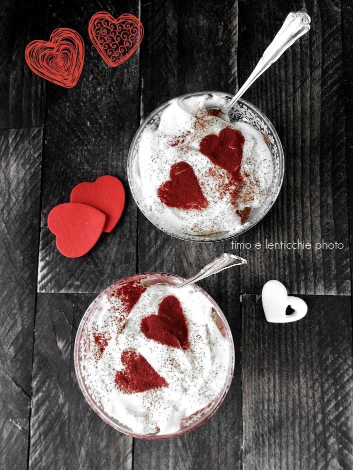 tiramisu vegano per san valentino