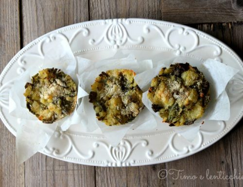 Tortini di fagiolini e patate #iononspreco