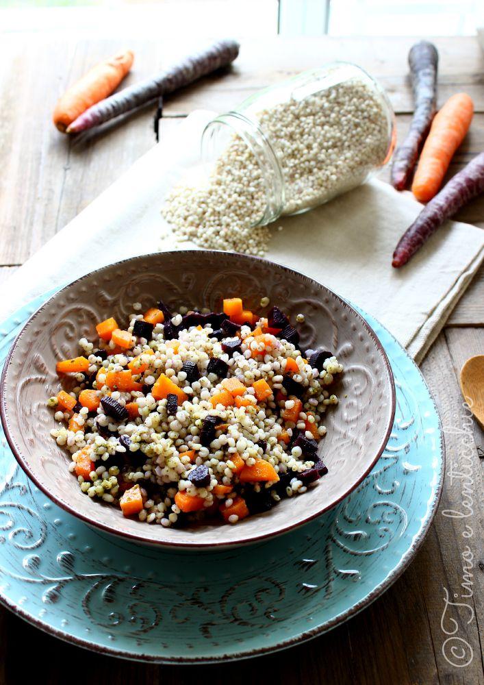 carote e sorgo