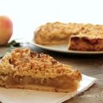 torta di mele alla svedese vegan
