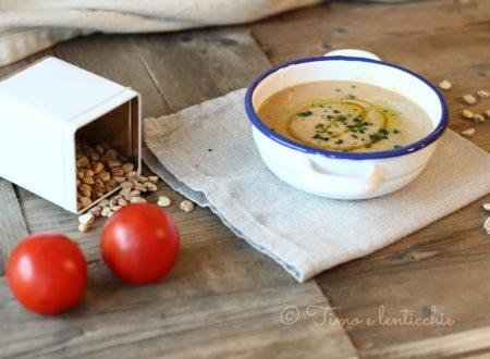 Zuppa di cicerchie legume antico