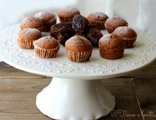 Mini muffin ai datteri