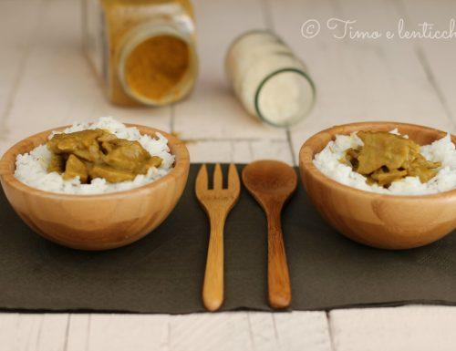 Muscolo di grano al curry