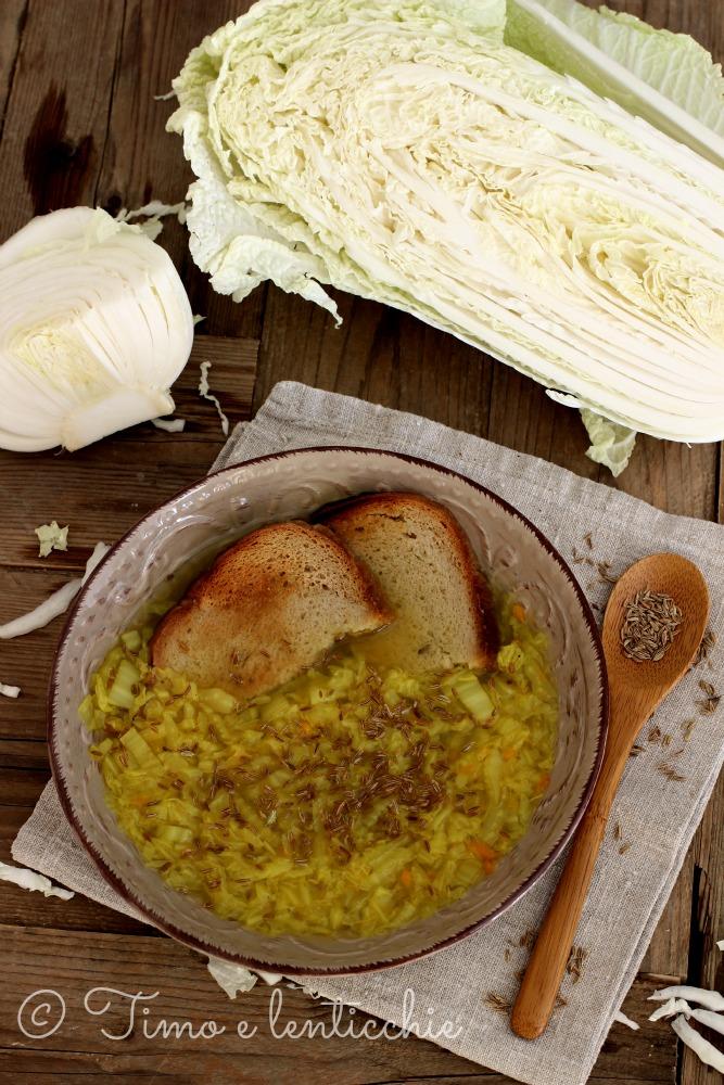 zuppa cavolo cinese
