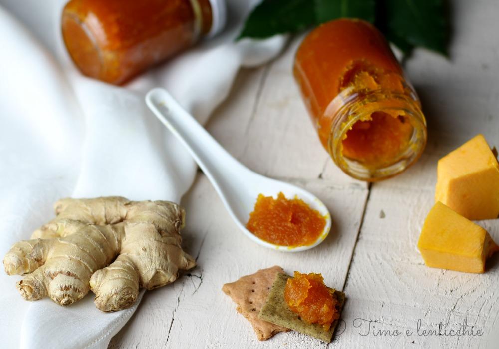 Marmellata di zucca e zenzero timo e lenticchie for Cucinare zenzero