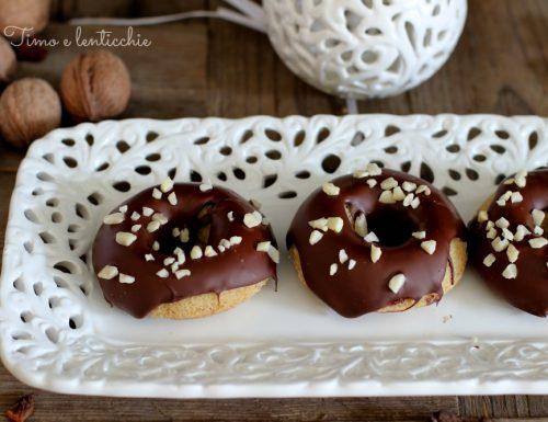 Ciambelline al cioccolato gluten free
