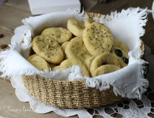 Focaccine  al farro integrale e olive