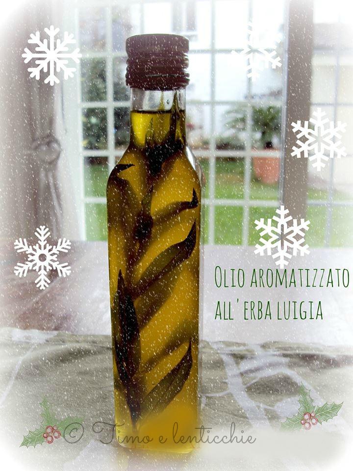 Olio aromatizzato all'erba Luigia