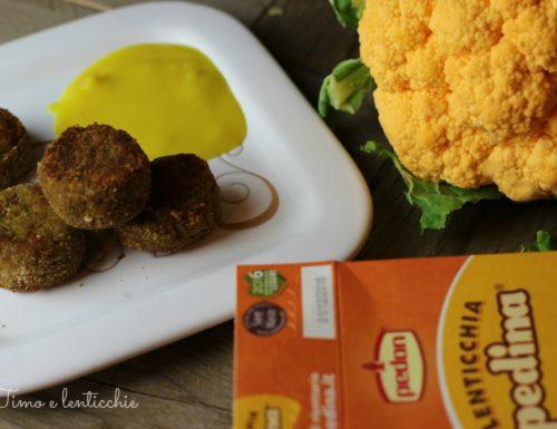 Polpette di lenticchie e amaranto