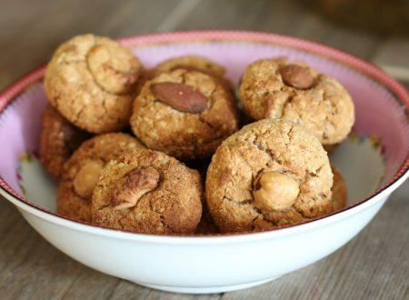 Biscottini della salute gluten free senza zucchero