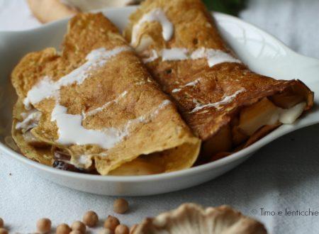 Le crepes degli intolleranti senza glutine e lattosio