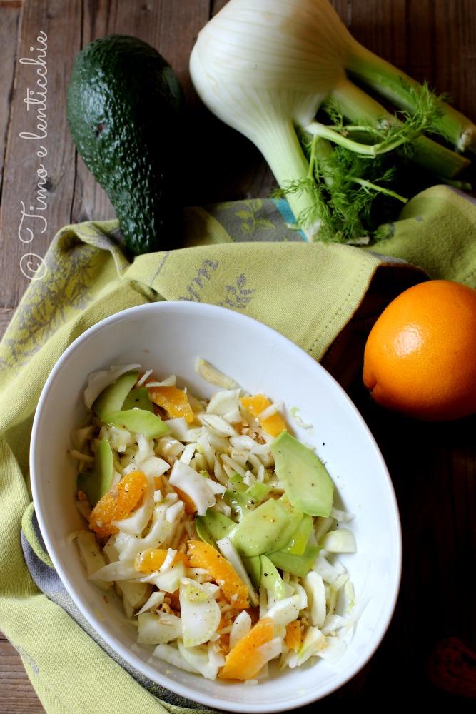 Insalata di arance alla siciliana, la ricetta facile ...