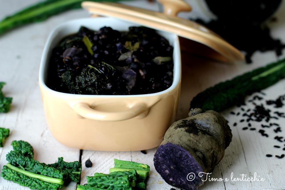 minestrone in nero