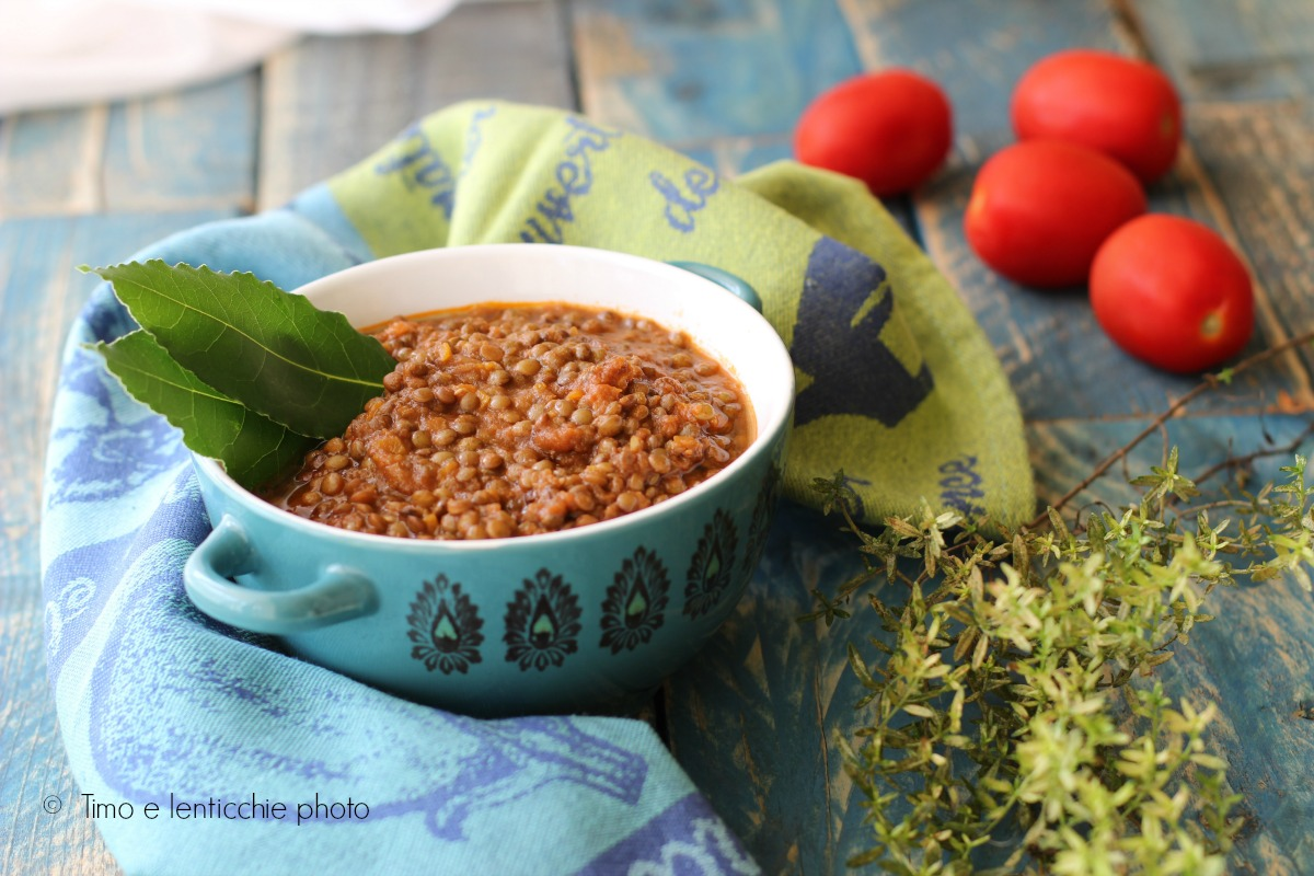 ragu di lenticchie ricetta veloce
