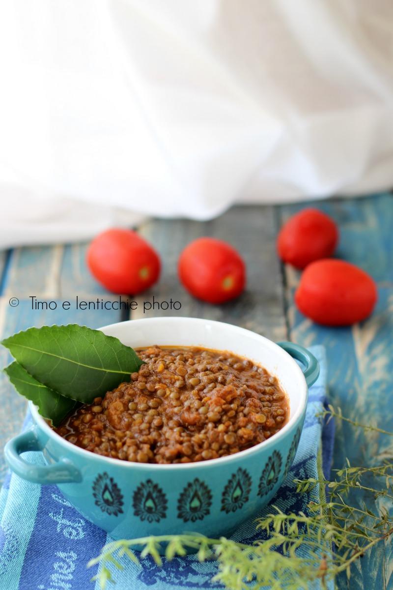 ragu di lenticchie rosse