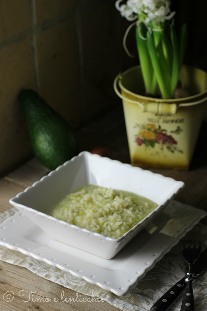 risotto avocado 1