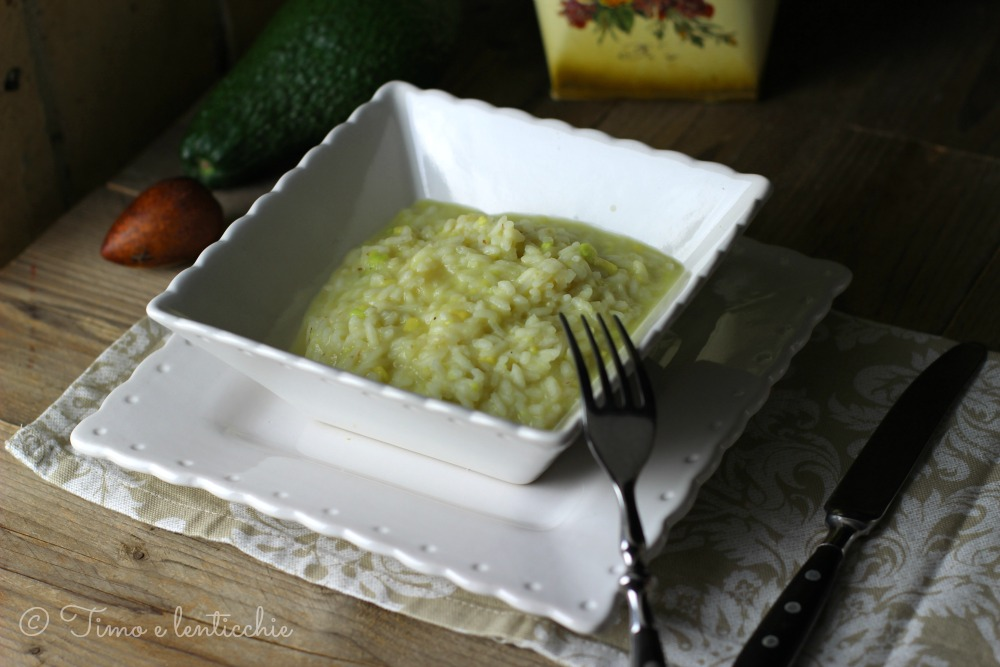 risotto avocado