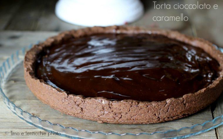 Ricetta torta cioccolato e caramello