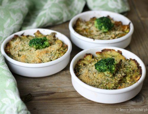 Sformatini di broccolo patate e olive