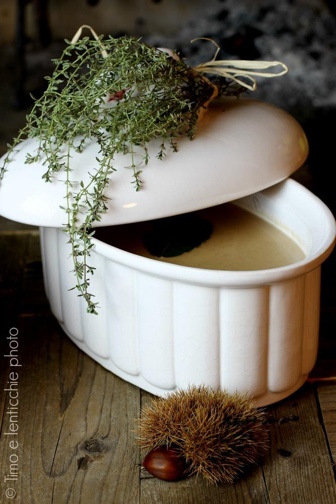 Zuppa di castagne e cannellini