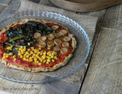 Quasi una pizza veloce e gluten free