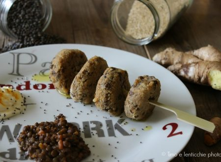 Polpette lenticchie Lauragais e quinoa