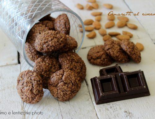 Amaretti al cioccolato