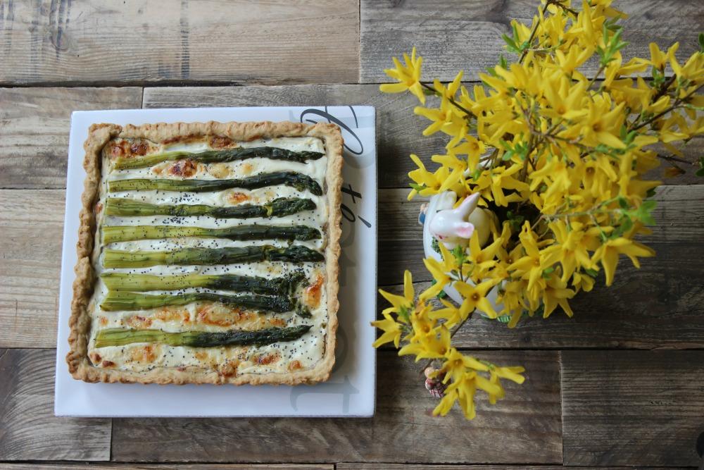 brise vegana agli asparagi