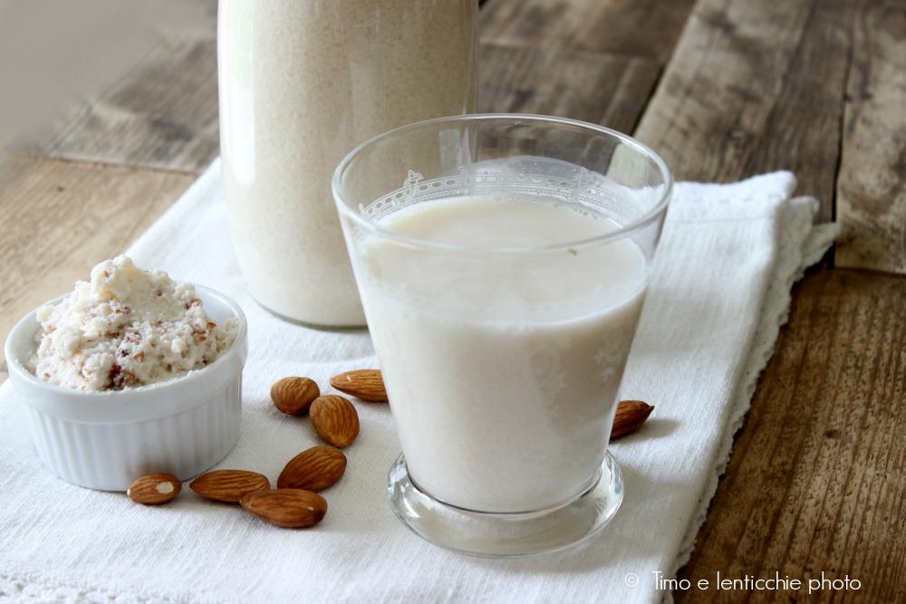 Ricetta bimby latte di mandorle