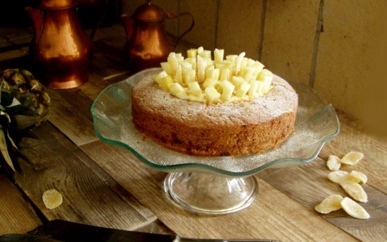 Torta mimosa vegana alla farina di farro