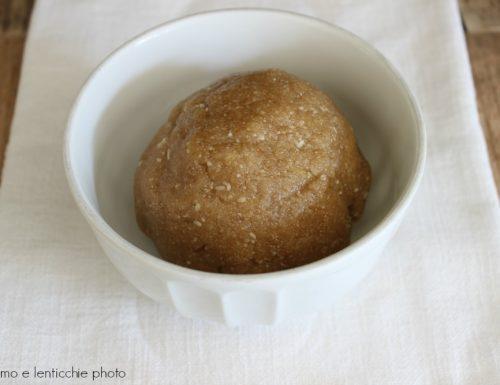 Pasta frolla alle mandorle senza burro