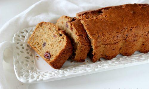 Plumcake vegan  gluten free con ribes