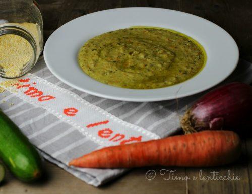 Come preparare la zuppa veloce di miglio