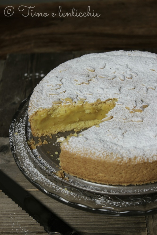 torta nonna vegana