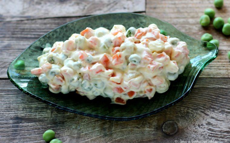 Vegan insalata russa veloce
