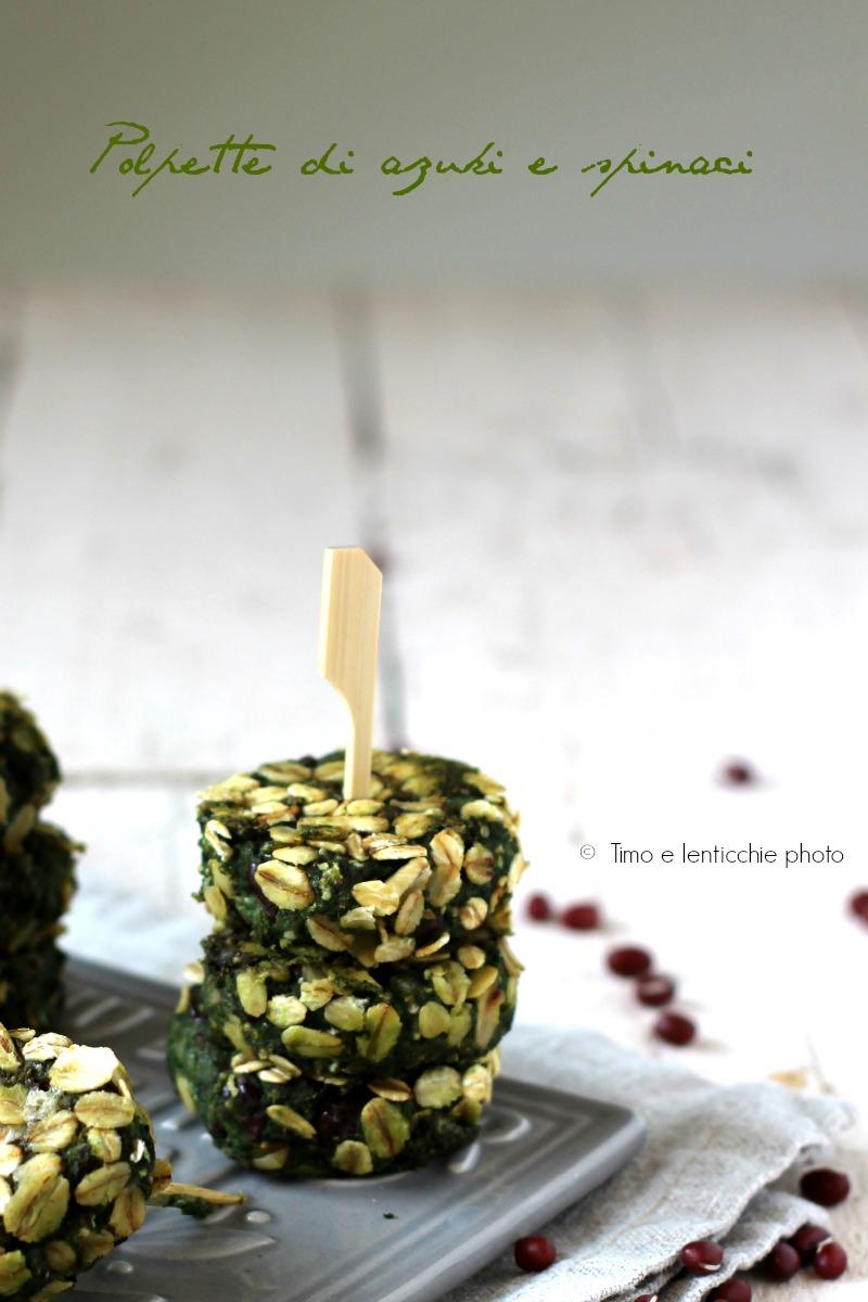 polpette di azuki e spinaci 4