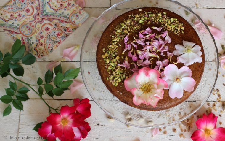 Torta di rose persiana