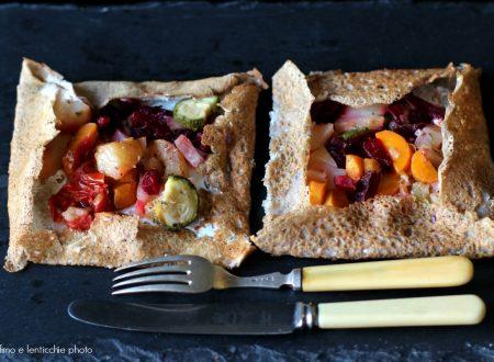 Gallette bretonne vegane alle verdure