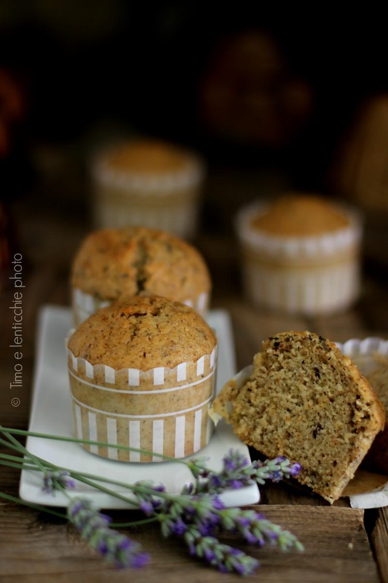 muffin del mattin oalla lavanda